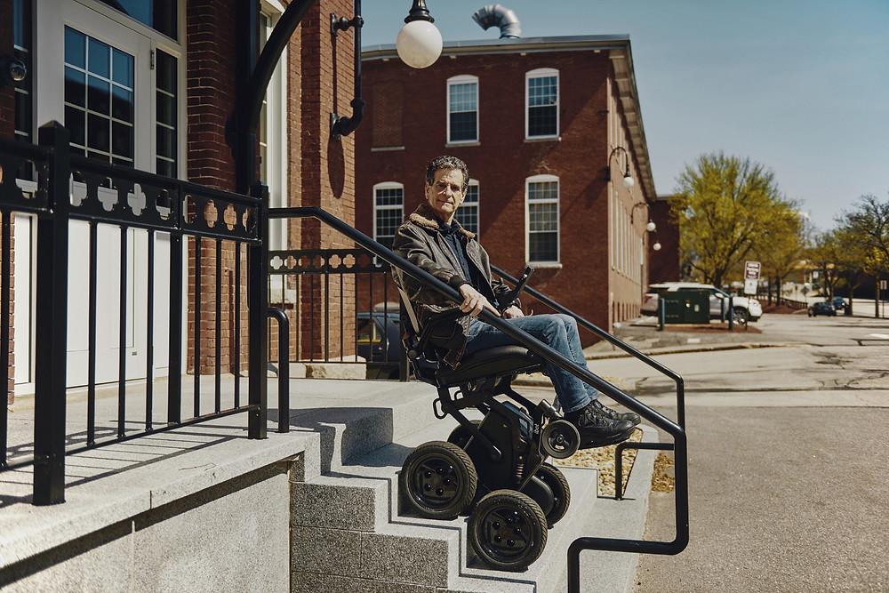Dean Kamen.  Photo by: Tony Luong. Courtesy: Medium | OneZero