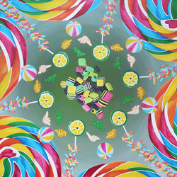 Candy Mandala.