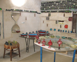 inside the gallery space