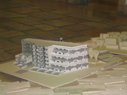 model cardboard and paper
