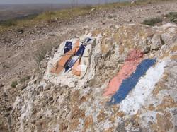 Israel National Trail way mark