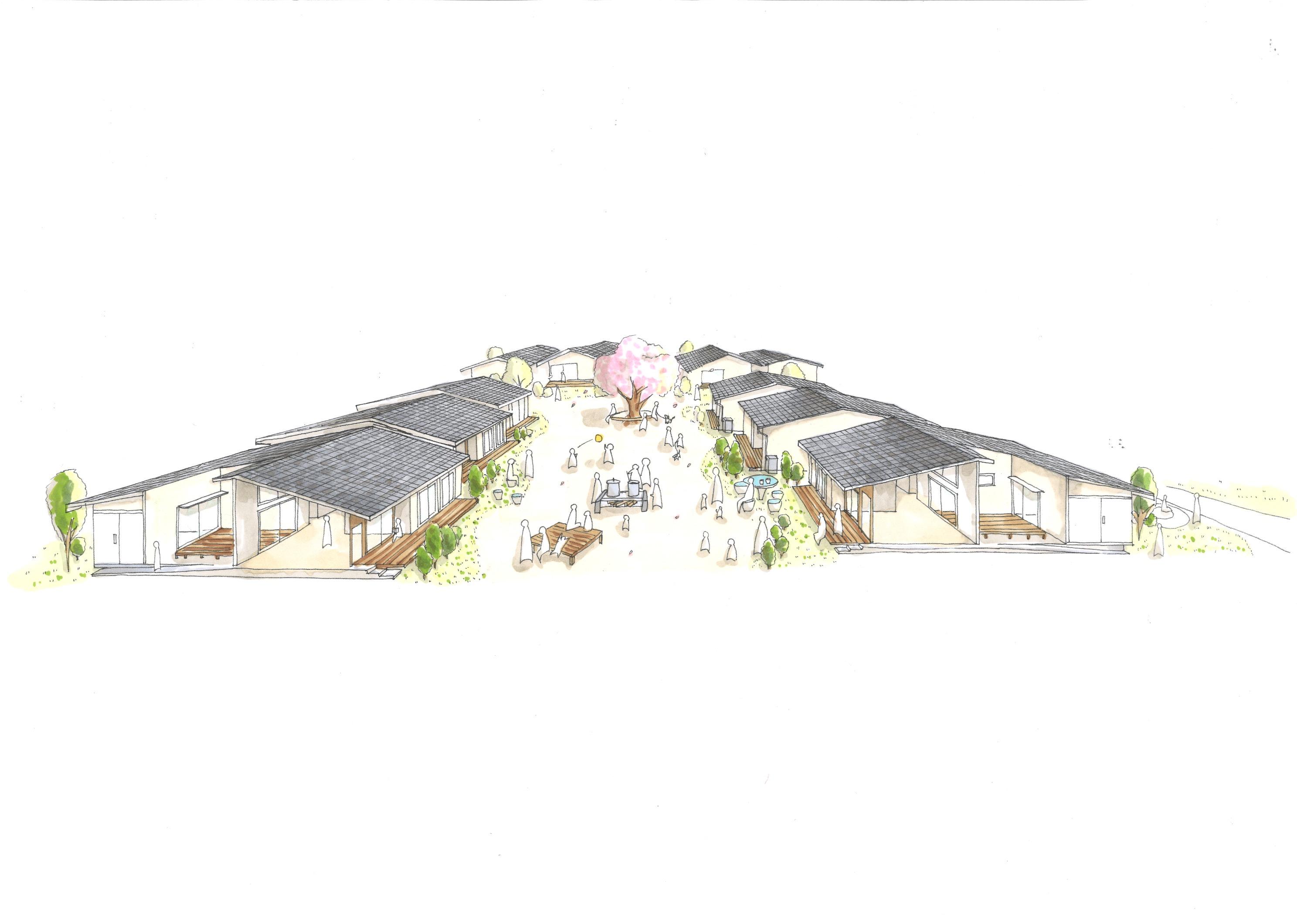 大熊町大川原地区(戸建住宅2期)復興公営住宅