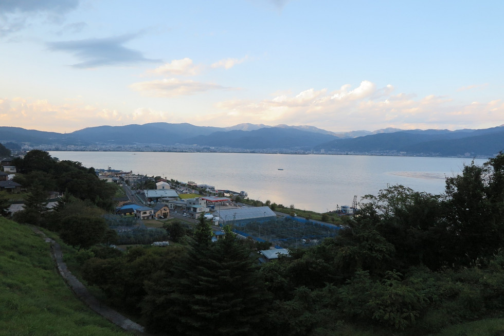 'Lake Suwa', found in central Nagano Prefecture, is known as 'Omiwatari' Shinto ritu