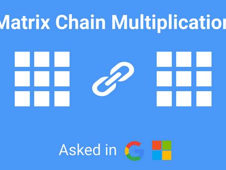 WAP to Implement Matrix Chain Multiplication in C - AskTheCode