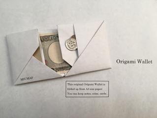 A3サイズから製作する折り紙財布 ver.2