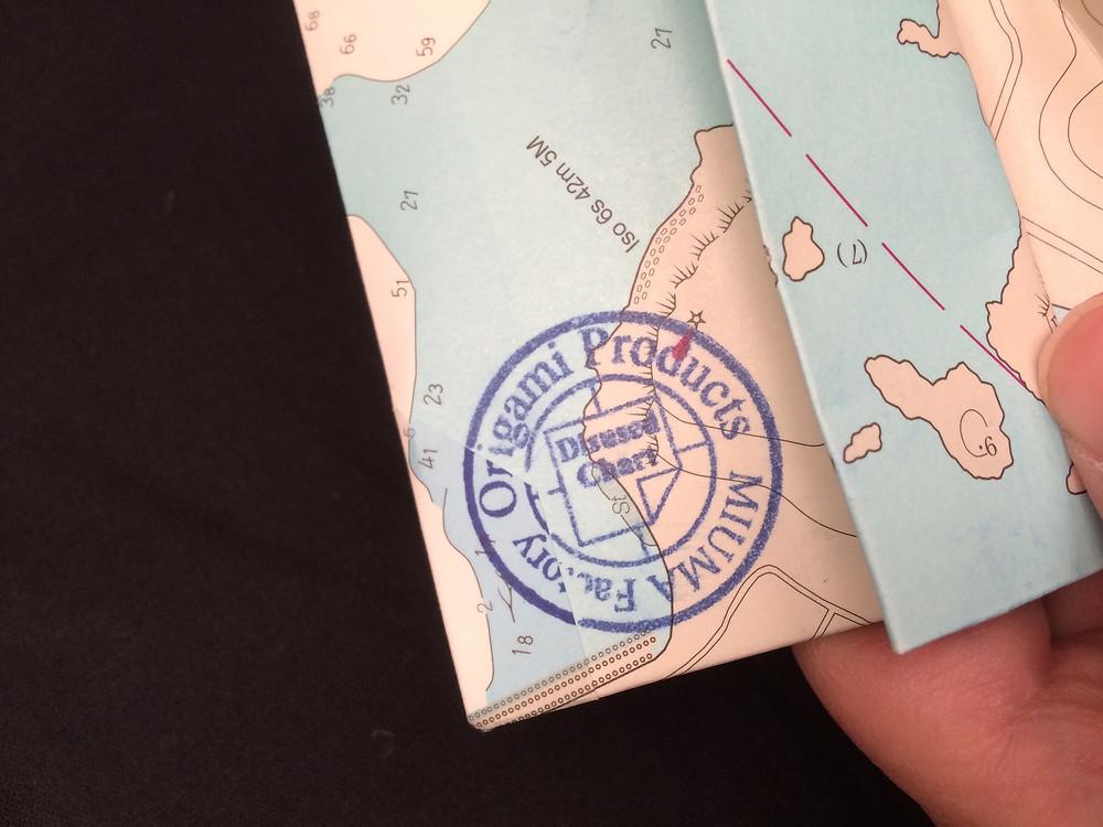 paper wallet origami 折り紙 財布 小銭入 paper 紙 oriKami