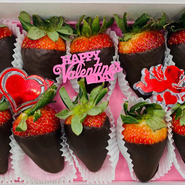 Single Chocolate Covered Strawberry