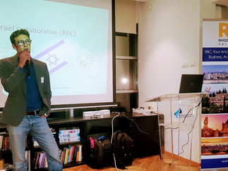 Israel's First Rhode Island-Israel Collaborative (RIIC) Event  Draws Israelis and Rhode Islander