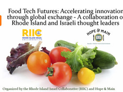 Event postponed New date will be advised : Food Tech Futures: Accelerating innovation through global