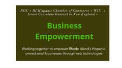 RIHCC and RIIC Announce Start of Phase 2 of Latino Biz Web Design Pilot Project