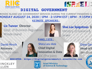 Digital Government: How Israel and Rhode Island Use Government Services During the Current Pandemic