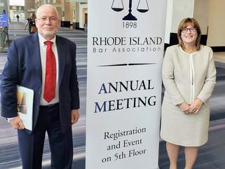 The Rhode Island - Israel Collaborative (RIIC), participated at the 2019 annual RI BAR Meeting: Succ