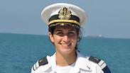 צפו: הפלגה עם המפקדת הראשונה על כלי שיט קרבי של חיל הים