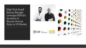 High Tech Israeli Startup Binsight Accepted to RIHub's Incubator program in Rhode Island
