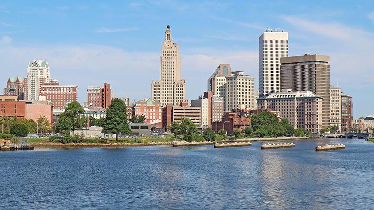 Skyline Of Providence, Rhode Island_edit