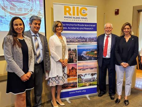 Dana Gavish Fridman, VP Entrepreneurship at Ben-Gurion University Technologies Visited Rhode Island