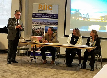 Reflection of recent Doing Business in Israel event at Bryant University, by Steven Swartz