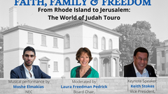 FAITH, FAMILY & FREEDOM - A special online event for Yom Yerushalayim and also an economic project