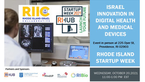 Israel Innovation in Digital Health and Medical Devices October 20th 11:00. The event is in person