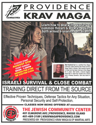Krav Maga in Providence  come and learn.