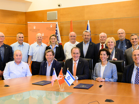 Gina M. Raimondo, Governor of Rhode Island, visit to Israel yields Success