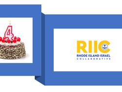 The Rhode Island-Israel Collaborative (RIIC) Celebrates its 4th Birthday June 6th, 2021