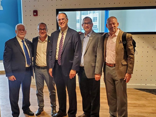 New Elected President of Ben Gurion University in Israel  Professor Dan Chamovitz  Visited Rhode Isl