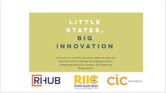 Little States, Big Innovation: Israel X Rhode Island,  Episode 10 Thursday September 30th 12:00 pm
