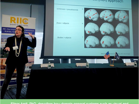 RI Bio and Rhode Island Israel Collaborative  (RIIC) Host Disruptive Neuroscience Technologies Chang