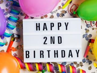 Rhode Island Israel Collaborative, RIIC is celebrating tomorrow, it's second birthday. Celebrati