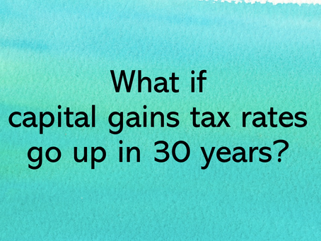 How 30 year tax deferral reduces your tax cost