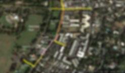 Map of Leahi Avenue