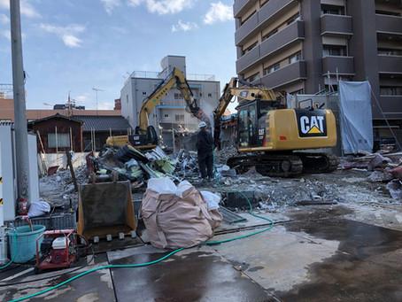 建物が取り壊されました