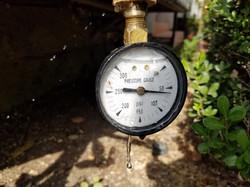 High water pressure repair