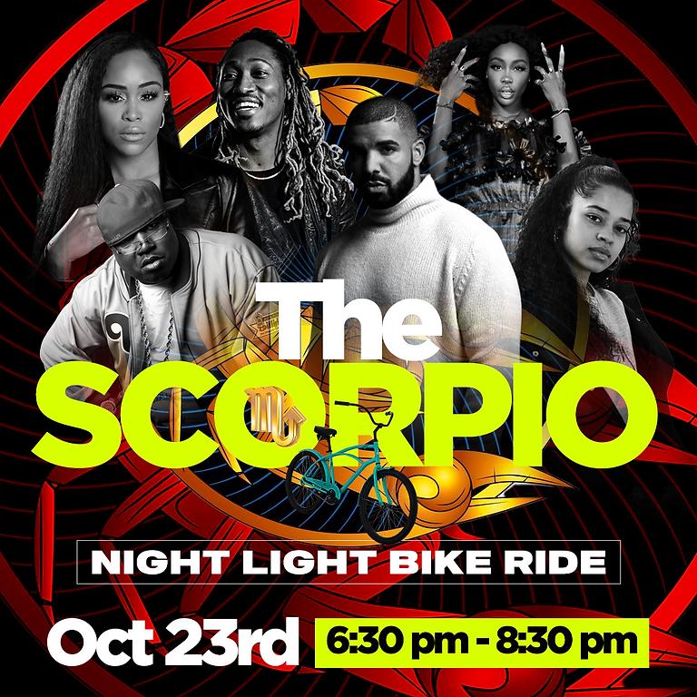 The Scorpio Night Light Bike Ride