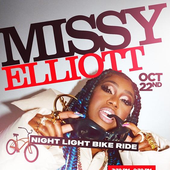 Missy Elliott Night Light Bike Ride
