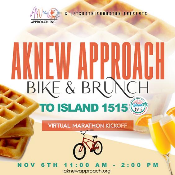 Aknew Approach Bike & Brunch Fundraiser to Island 1515