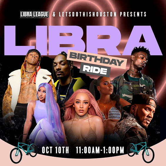 The Libra Birthday Bike Ride