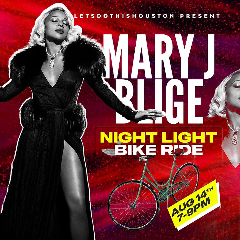 Mary J Blige Night Light Bike Ride | Aug 14th