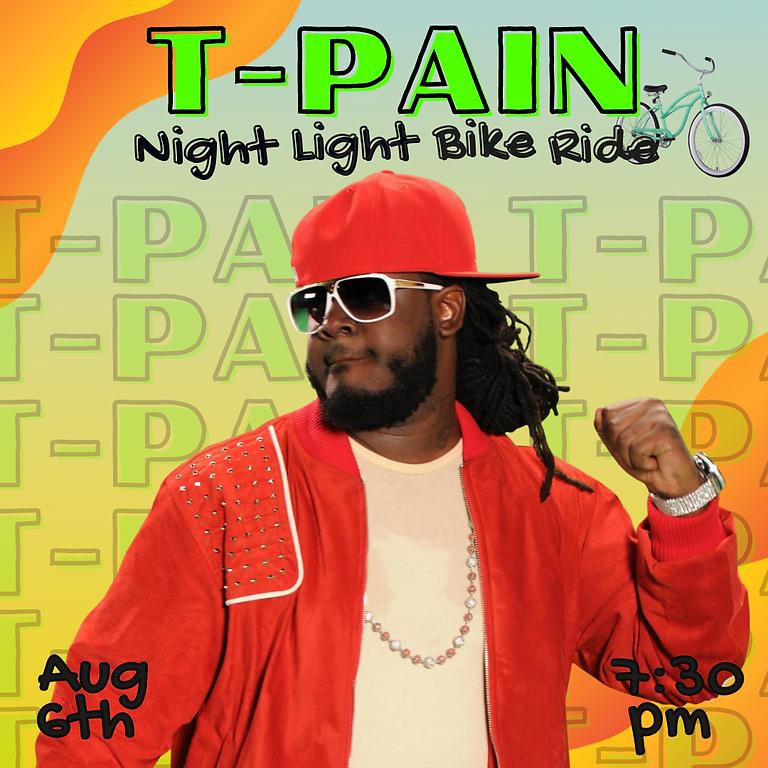 T-Pain Night Light Bike Ride