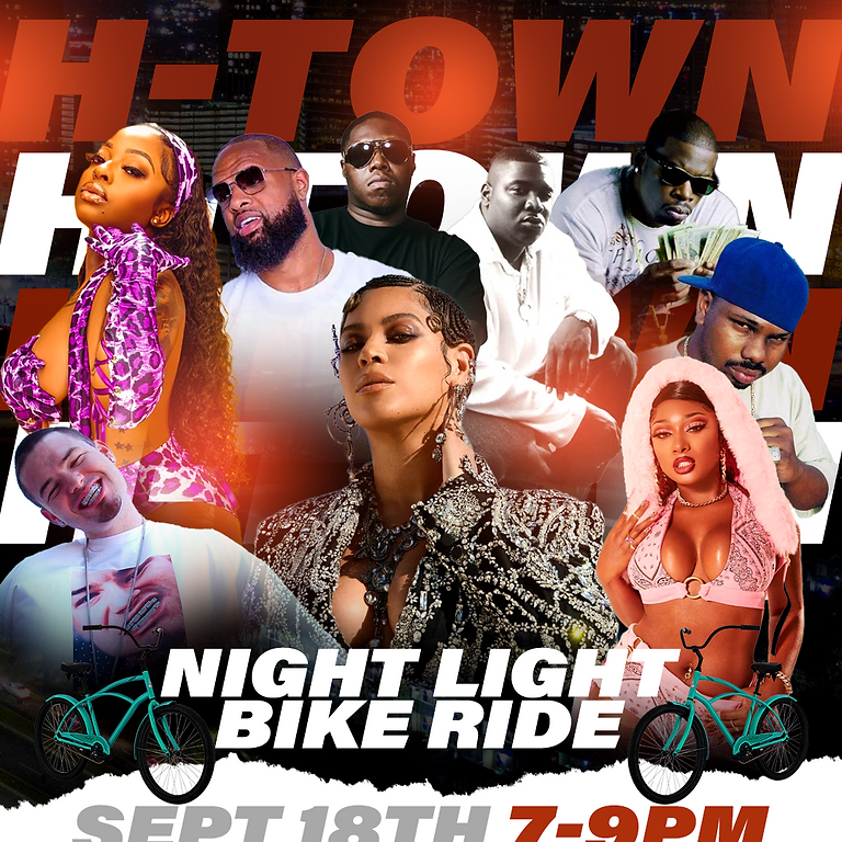 The H-Town Night Light Bike Ride