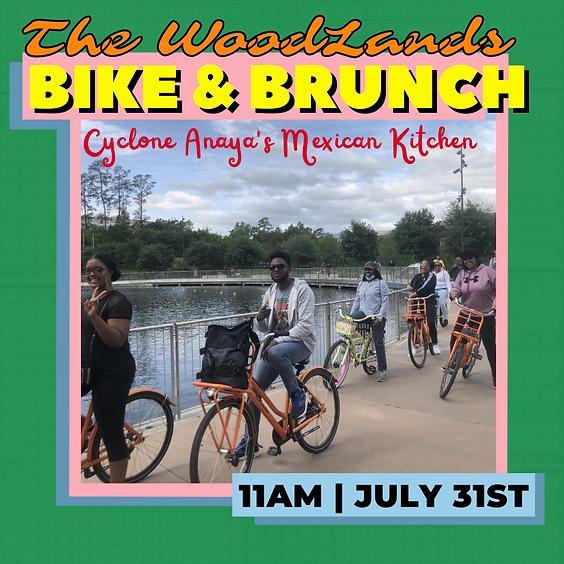 The Woodlands Bike & Brunch to Cyclone Anaya's