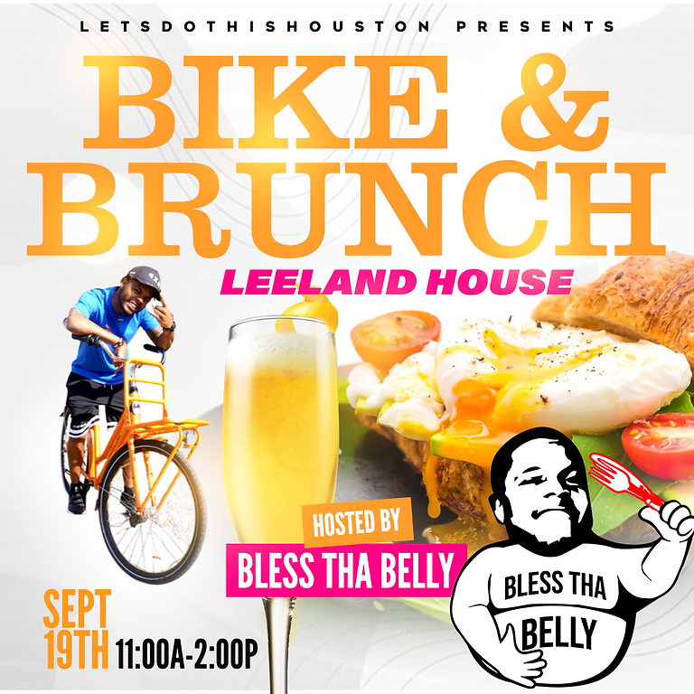 Bike & Brunch to Leeland Houston Hosted By Bless tha Belly
