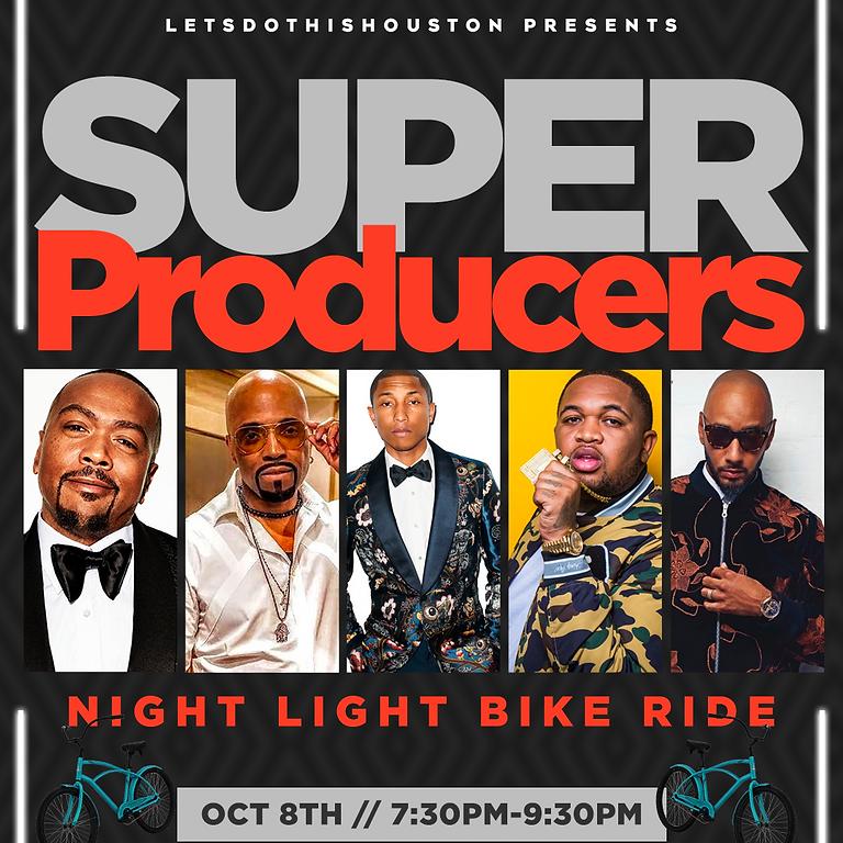Super Producers Night Light Bike Ride