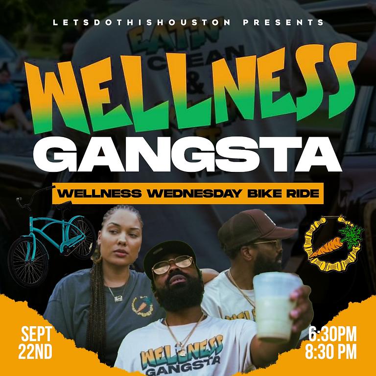 Wellness Gangsta: Wellness Wednesday Bike Ride