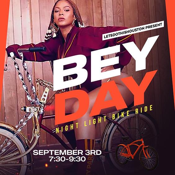 Bey Day Night Light Bike Ride