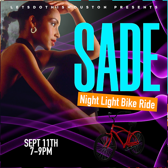 SADE Night Light Bike Ride