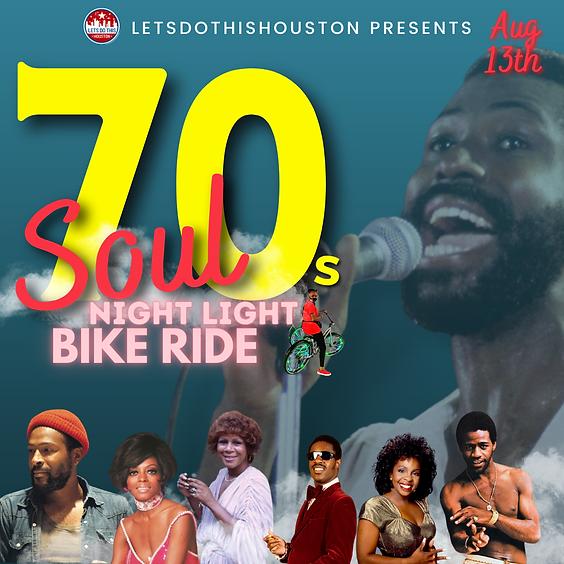70s Soul Night Light Bike Ride
