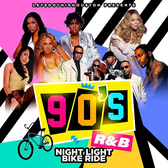 90's R&B Night Light Bike Ride