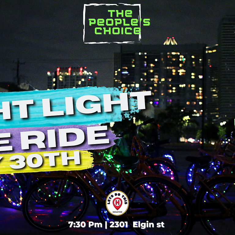 The People's Choice Night Light Bike Ride